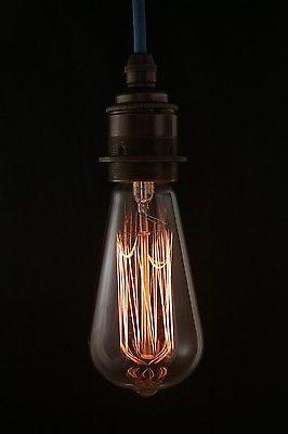 Edison Vintage Light Bulb Globe Lamp 5000 Hours Bayonet B22