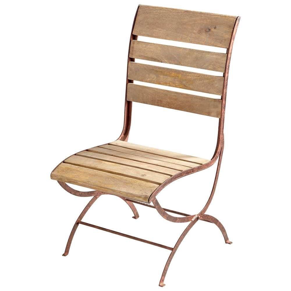 Cyan design 07013 victorian chair in dark rustlight
