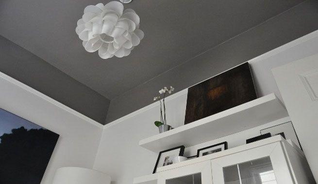 Pinturas para techos  Decoracin hogar  Techo oscuro