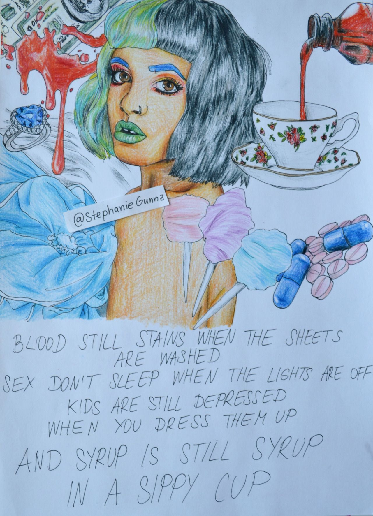 Melanie Martinez  Sippy Cup (my New Drawing)
