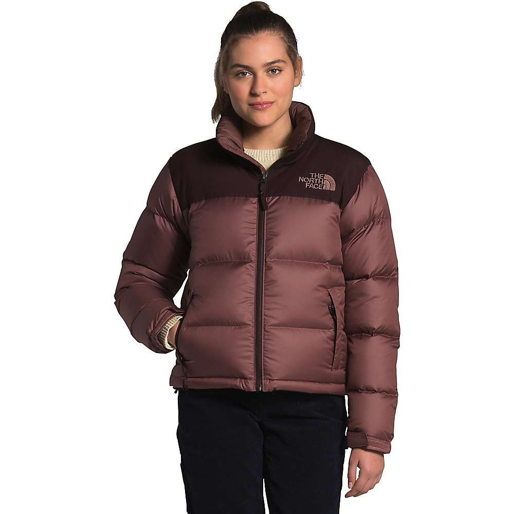 The North Face Women S Eco Nuptse Jacket In 2021 North Face Puffer Jacket Nuptse Jacket Brown Puffer Jacket [ 1000 x 1000 Pixel ]