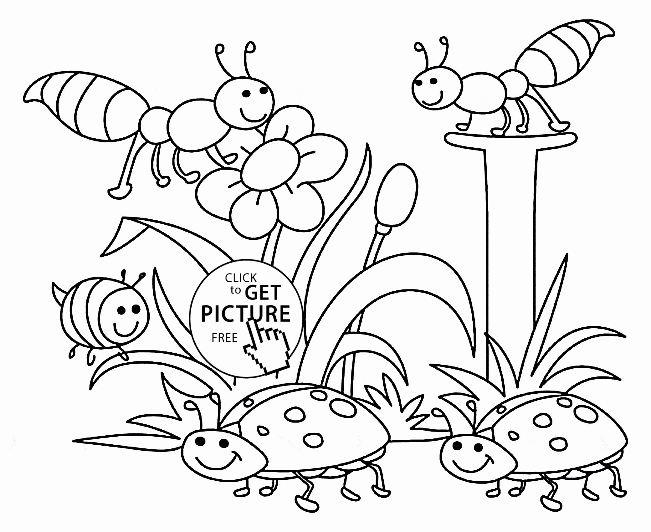 Nature Coloring Pages Printable Elegant Collection Mixed Animal