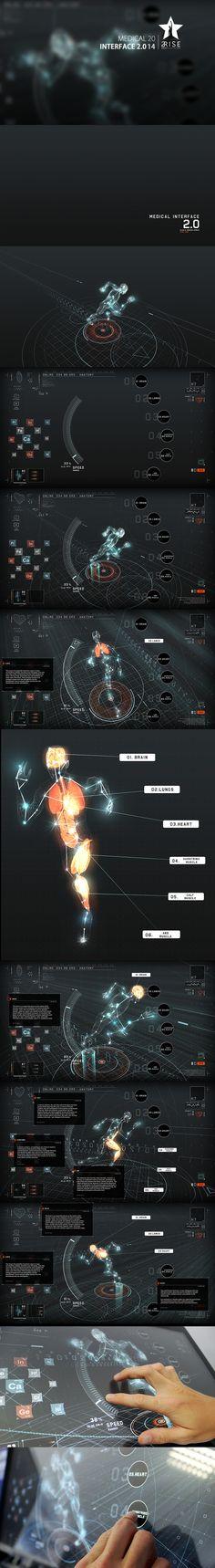 MEDICAL INTERFACE 2.0 by http://Jedi88.deviantart.com on @deviantART