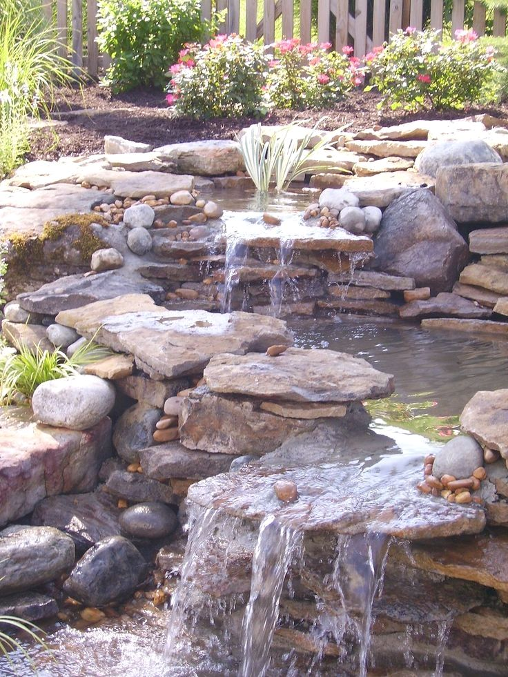 11 Inspirational DIY Ideas for Your Backyard Waterfall - Waterfalls - estanques artificiales