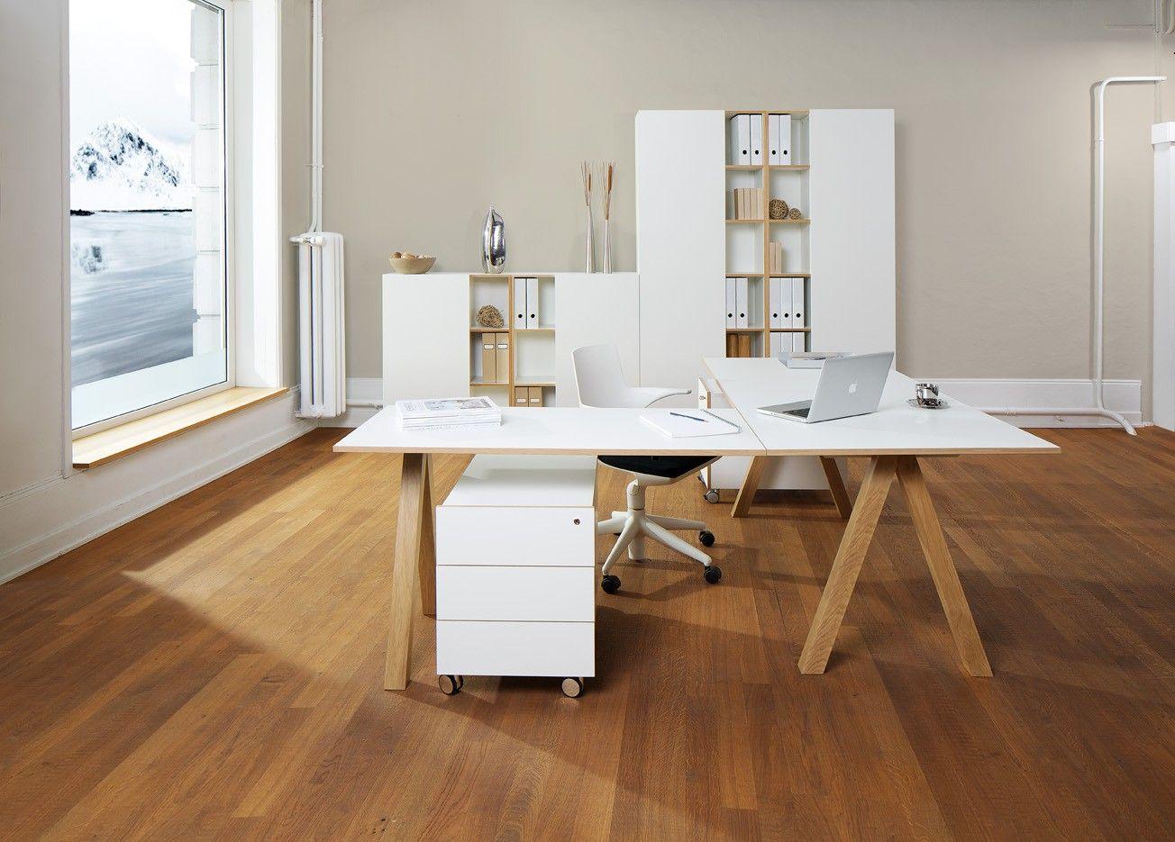 Reinhard Crea office Büromöbel-Set / Modell OSLO / 7-teilig / weiß ...