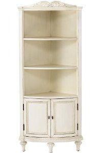 Hepburn Corner Cabinet 60 2 Door Antique White By Home