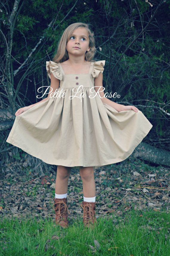 2eb33e233c8 Flower Girl Country Wedding Shabby Chic Cottage Chic Sundress Boho Rustic  Photo Prop Birthday Outfit Size 7 or 8 MADE TO ORDER