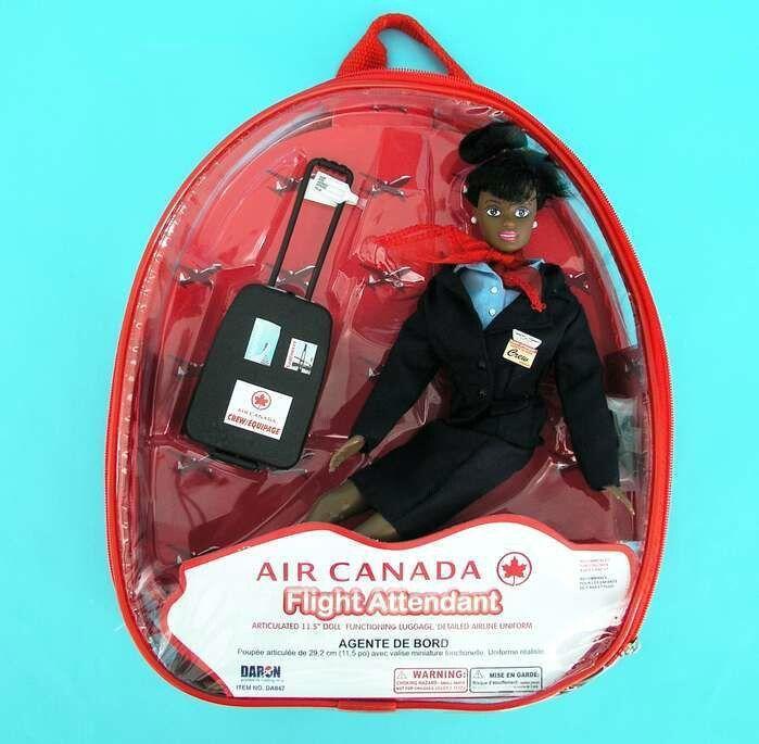 Air Canada Cabin Crew Doll