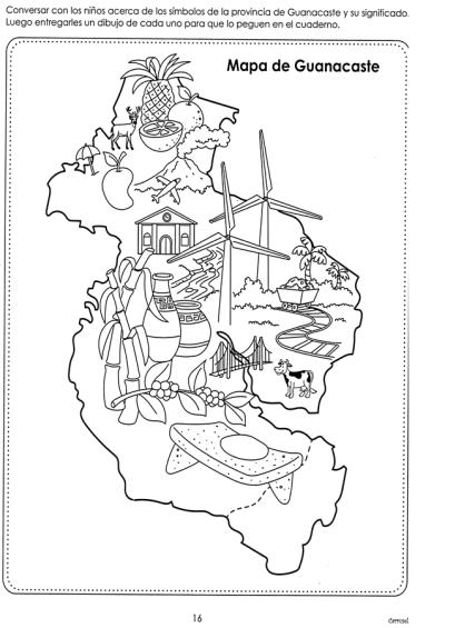 Yeyiscouts88 Profeyano Página 2 Simbolos Nacionales Murales Escolares Anexion De Guanacaste