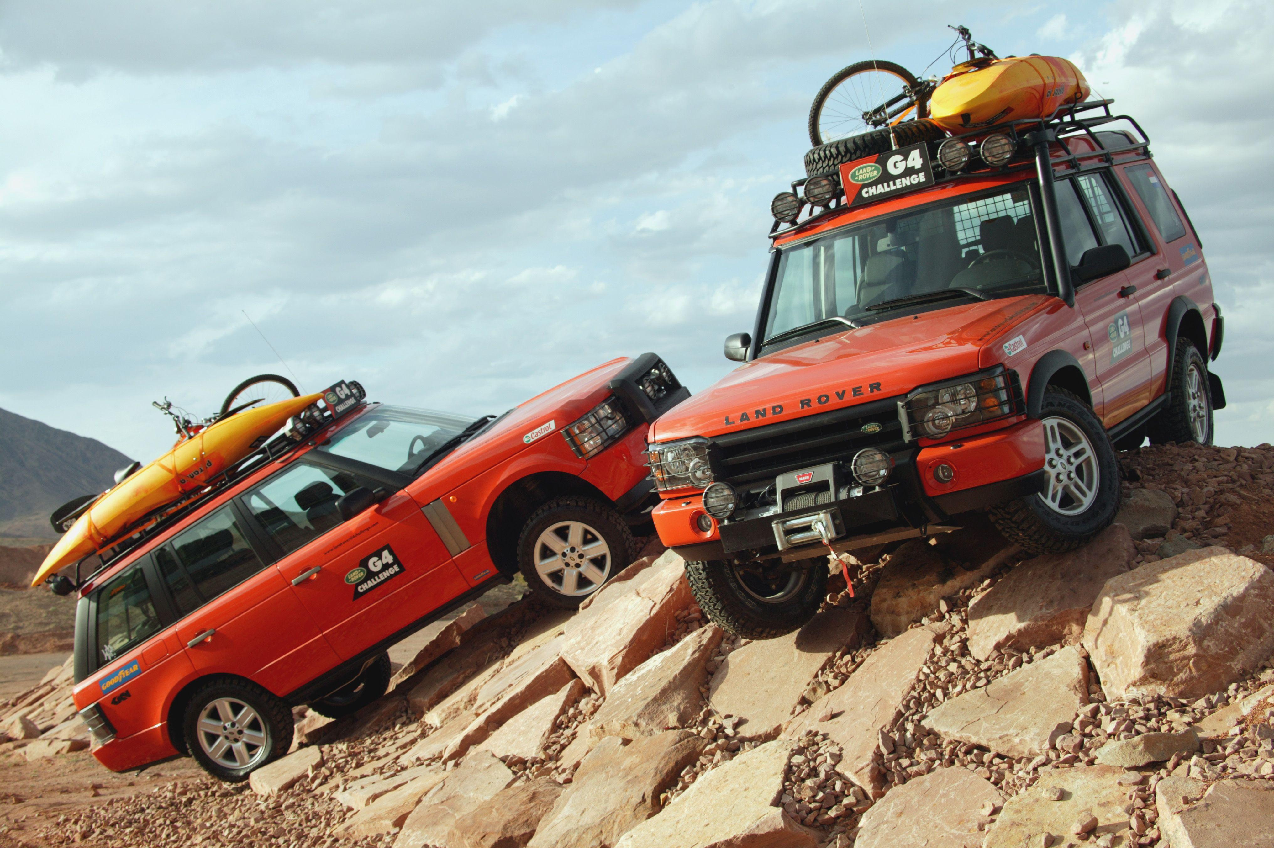 G4 Challenge Series. Love the Range Rover! Land rover