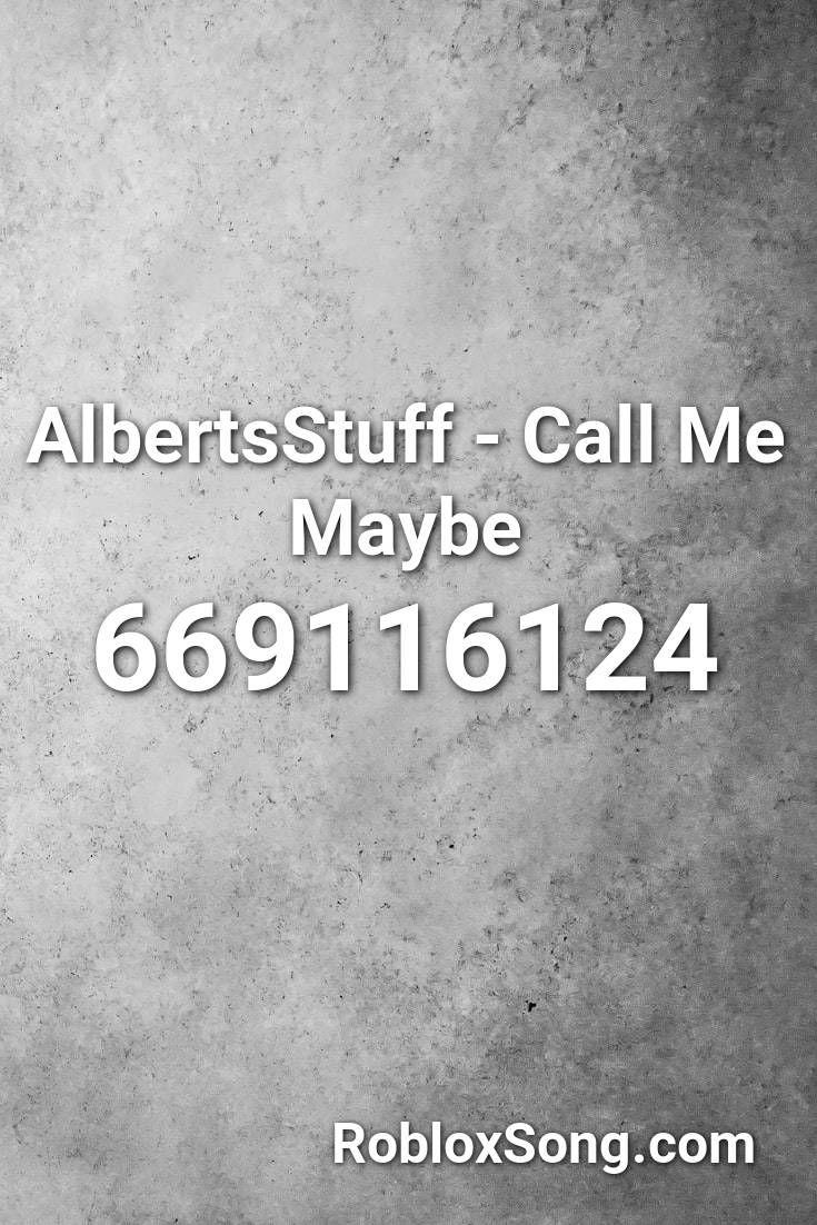 Albertsstuff Call Me Maybe Roblox Id Roblox Music Codes In 2020 Call Me Maybe Roblox Eminem