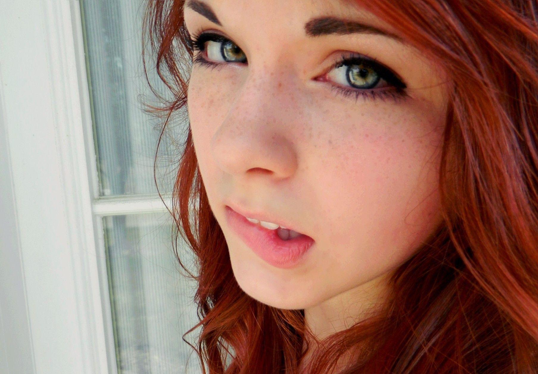 Girl Green Eyes Leaves · Free photo on Pixabay