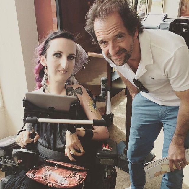 L'interview avec Stéphane De Groodt arrive bientôt ! #followlucie #cannes2015 #festivaldecannes #cinema #television #stephanedegroodt #luciecarrasco – à Grand Hyatt Cannes Hôtel Martinez. www.luciecarrasco.com