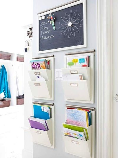office door mail holder. Nice Mail Organizer. Great For Back Of Closet Door. Make One Each Family Office Door Holder
