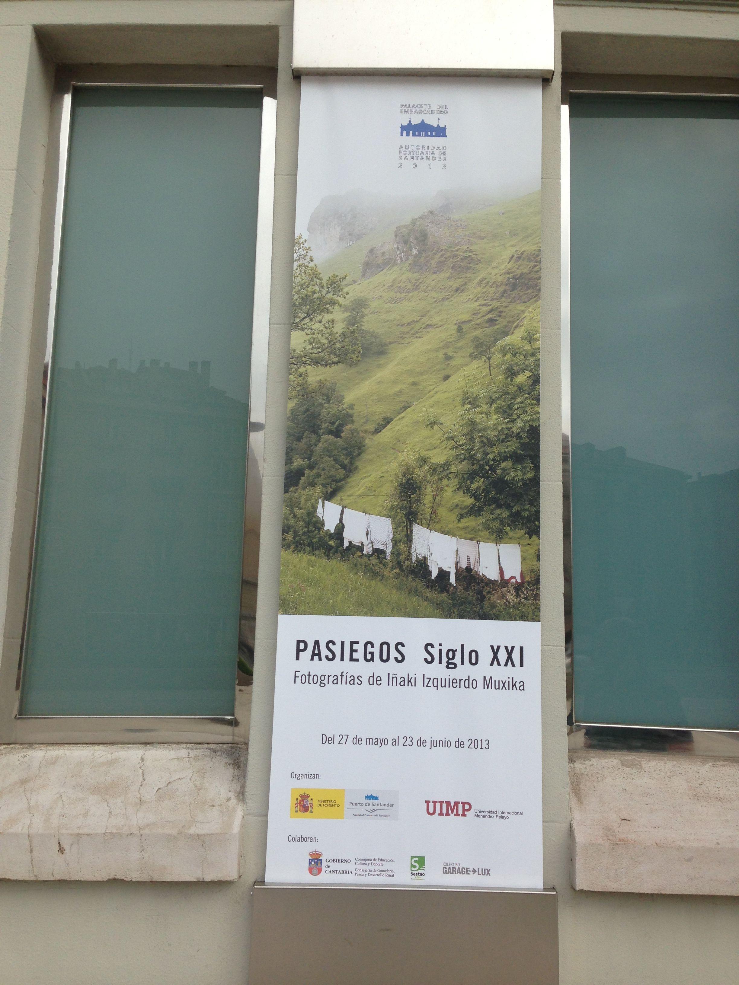 Exposición de fotografías de Iñaki Izquierdo Muxica. Pasiegos del siglo XXI. En el Palacete del embarcadero Santander.