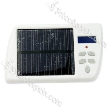 Solar Powered Charger with MP3 FM Transmitter for Cell Phone/Computer Price: $36.55