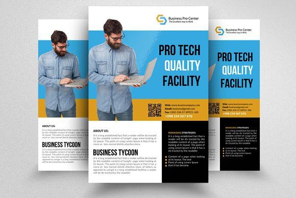 professional flyer templates corporate flyer pinterest flyer