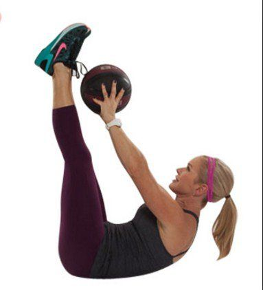 chest squeeze with ball  8 simple exercises to lift