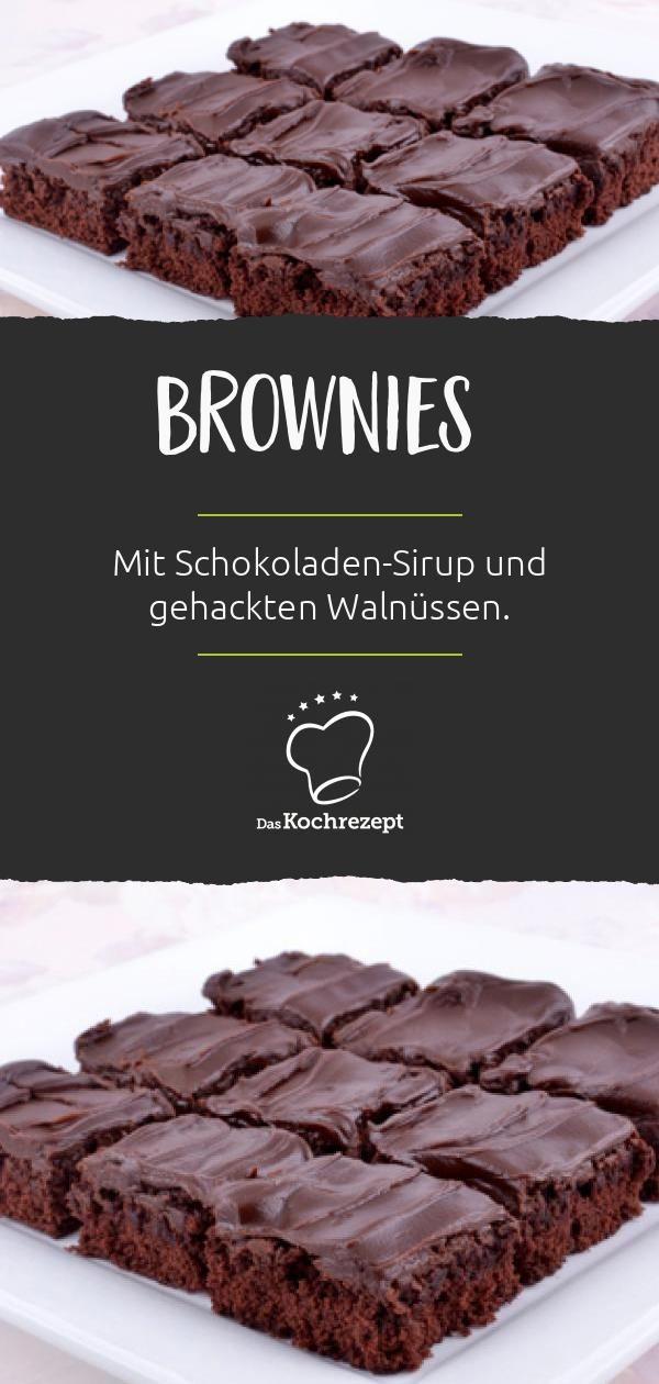 Schokoladen-Sirup-Brownies