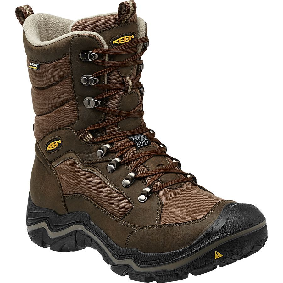 Keen Durand Polar Boot Men S Cascade Brown Brindle Boots Men Boots Waterproof Boots