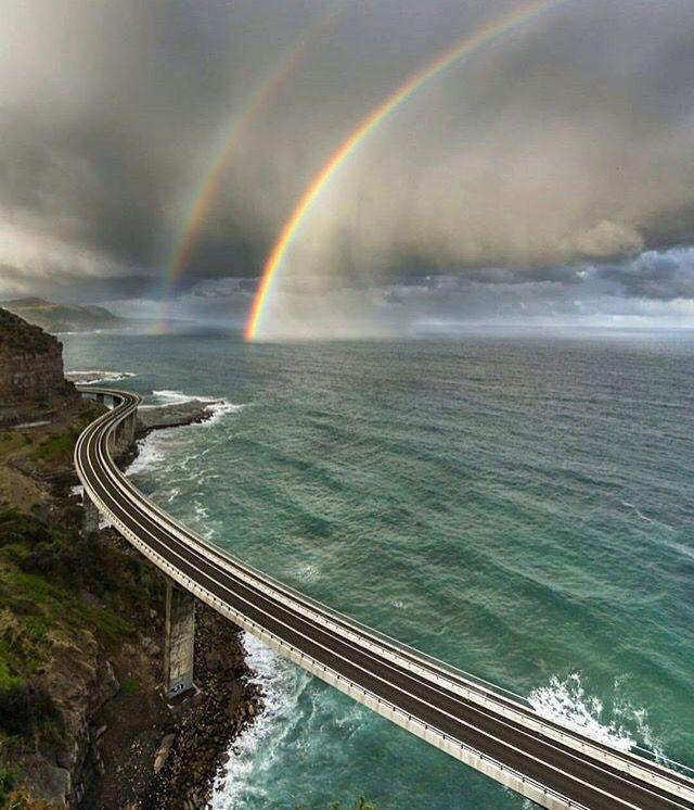 Beautiful road - Ocean Drive, Wollongong NSW, Australia