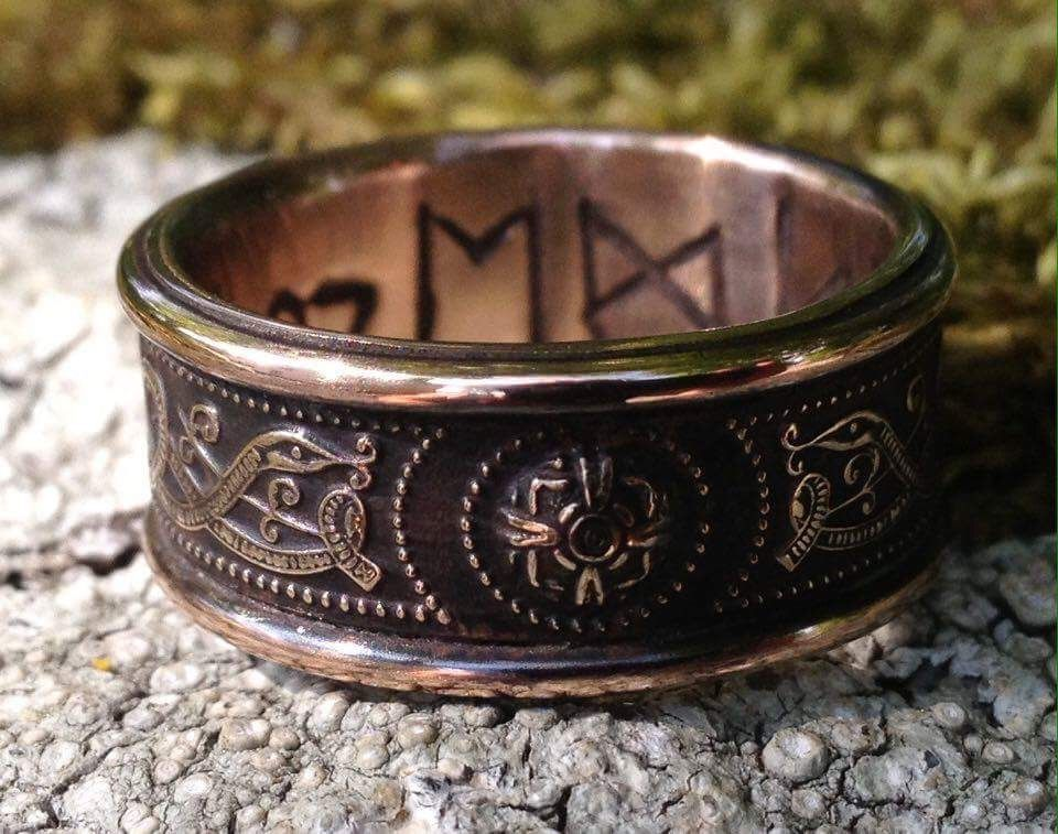 From Jason of England The Original maker of these rings