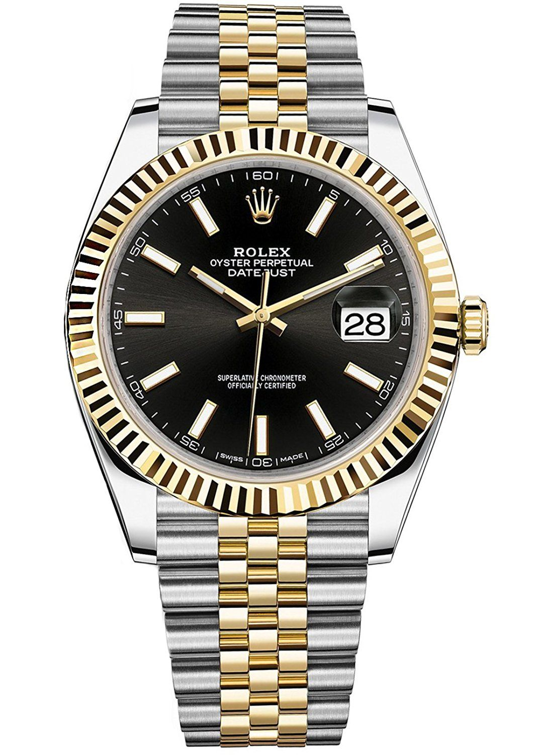 Rolex Datejust 41 Stainless Steel And 18k Yellow Gold Jubilee Watch Black Dial 126333 See This Awesome Image Coach Women Wat Orologi Rolex Orologio Rolex
