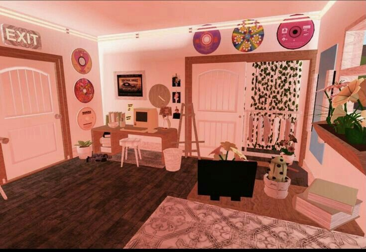 Pin By Neverpack On Bloxburg Interior And Outerior House Decorating Ideas Apartments Unique House Design Simple Bedroom Design