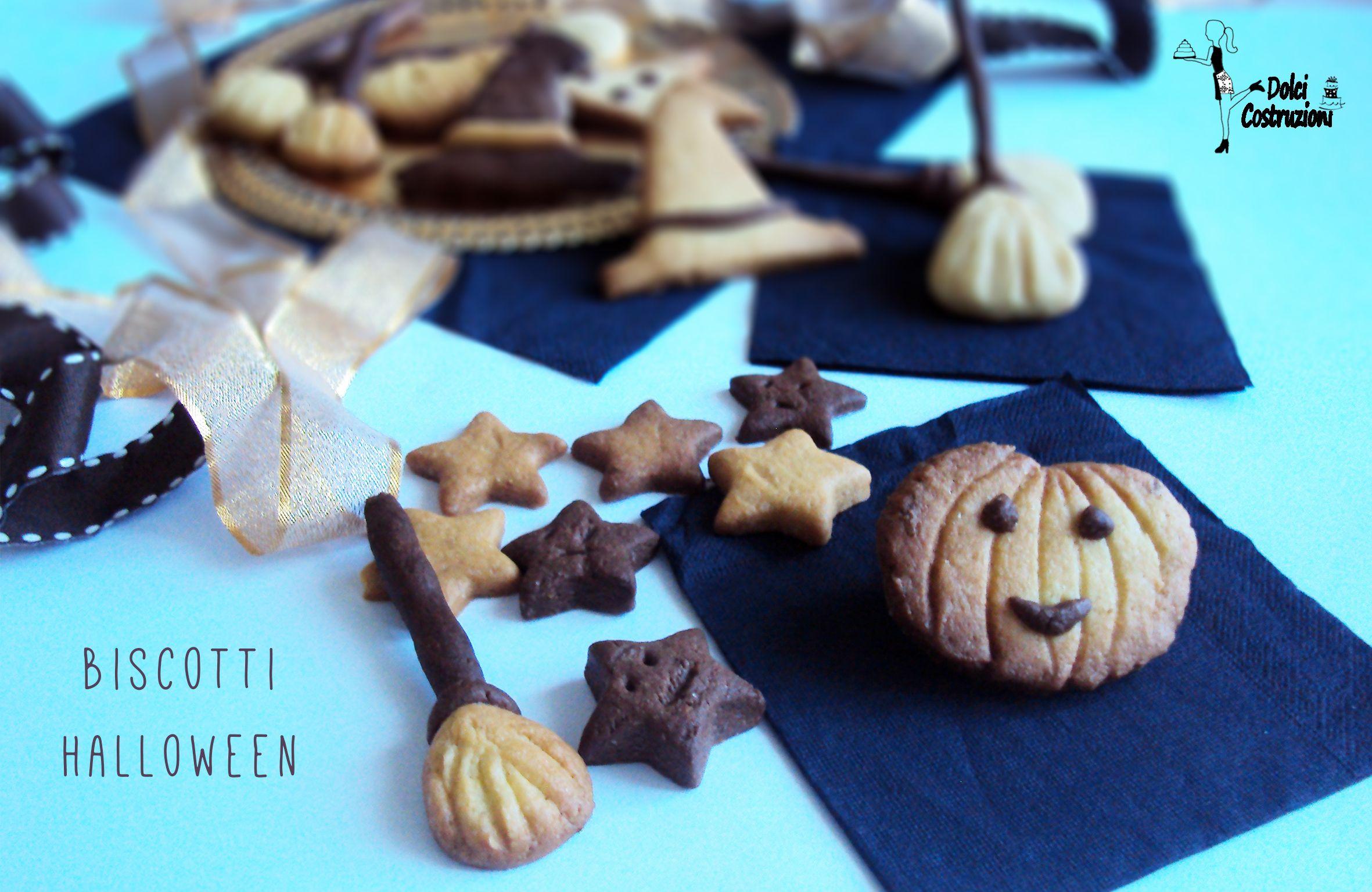 biscotti di halloween biscotti strega e zucca halloween