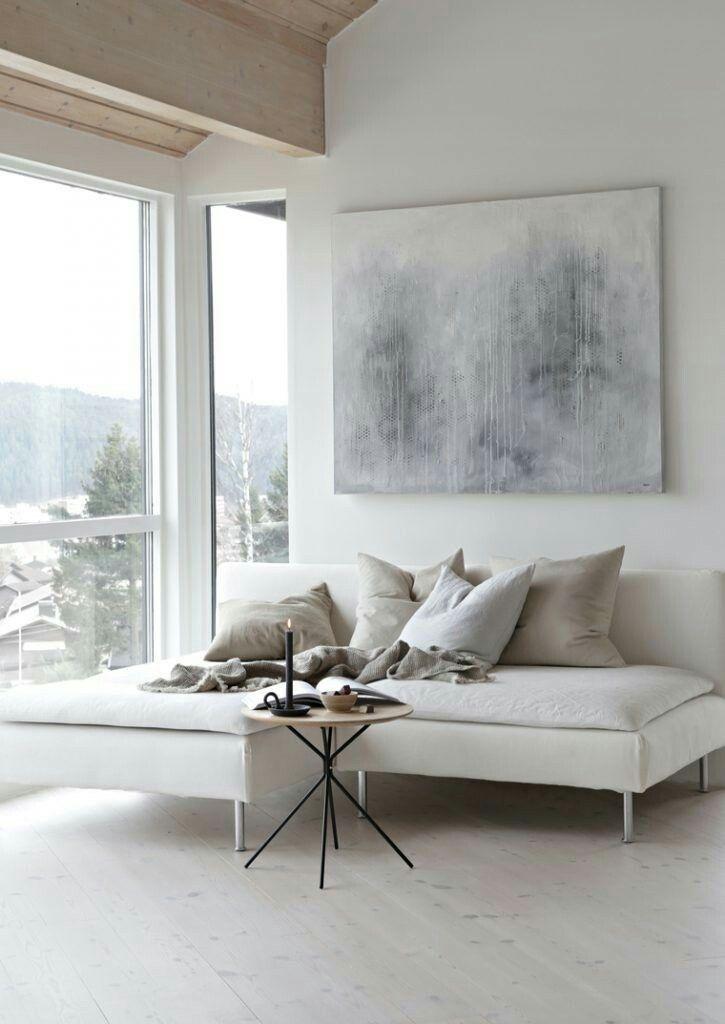 Pin von birgit martin auf weisse r ume pinterest - Bilderwand wohnzimmer ...