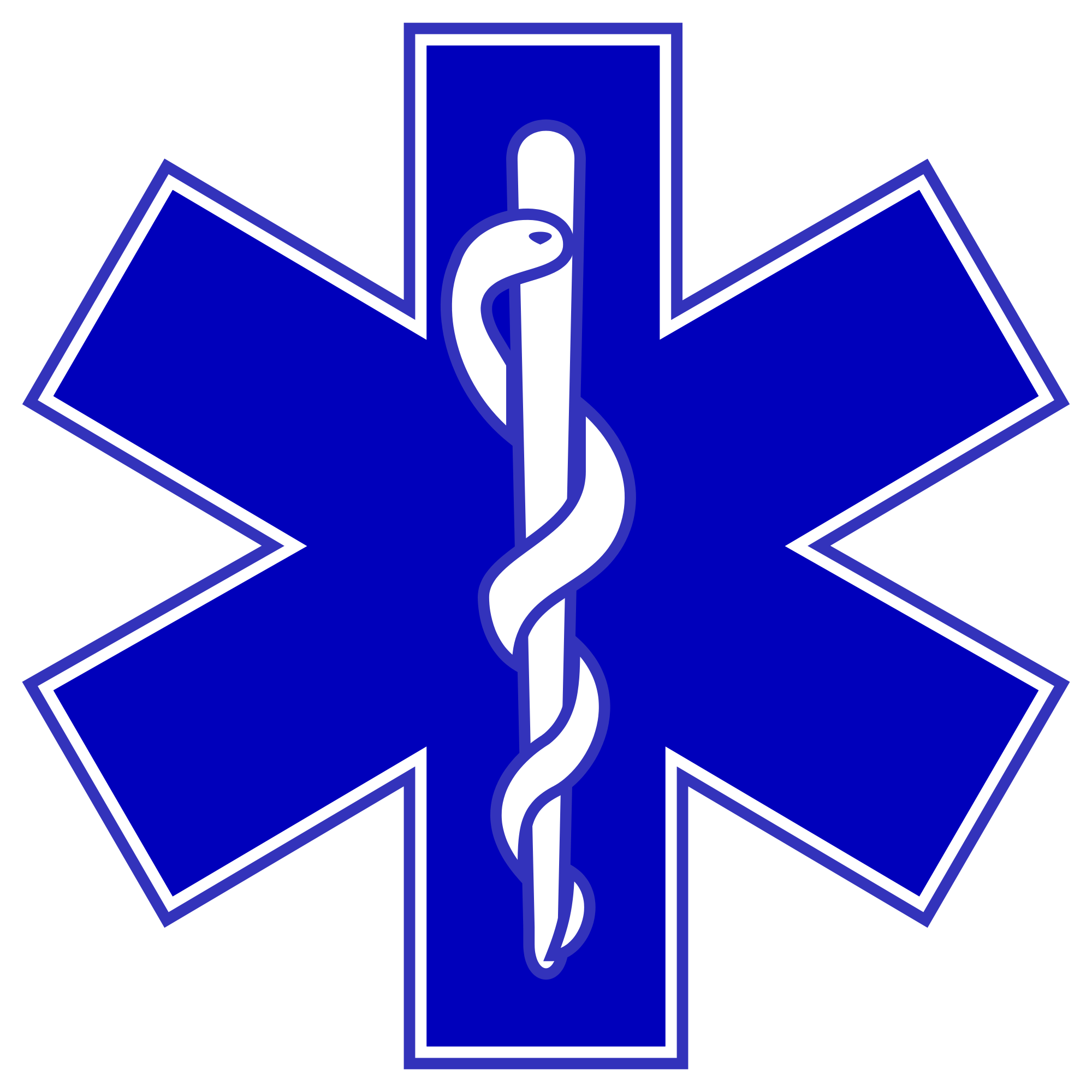 Ever wonder where the ambulance symbol came from? And the Lord ... | {Sanitäter symbol 7}