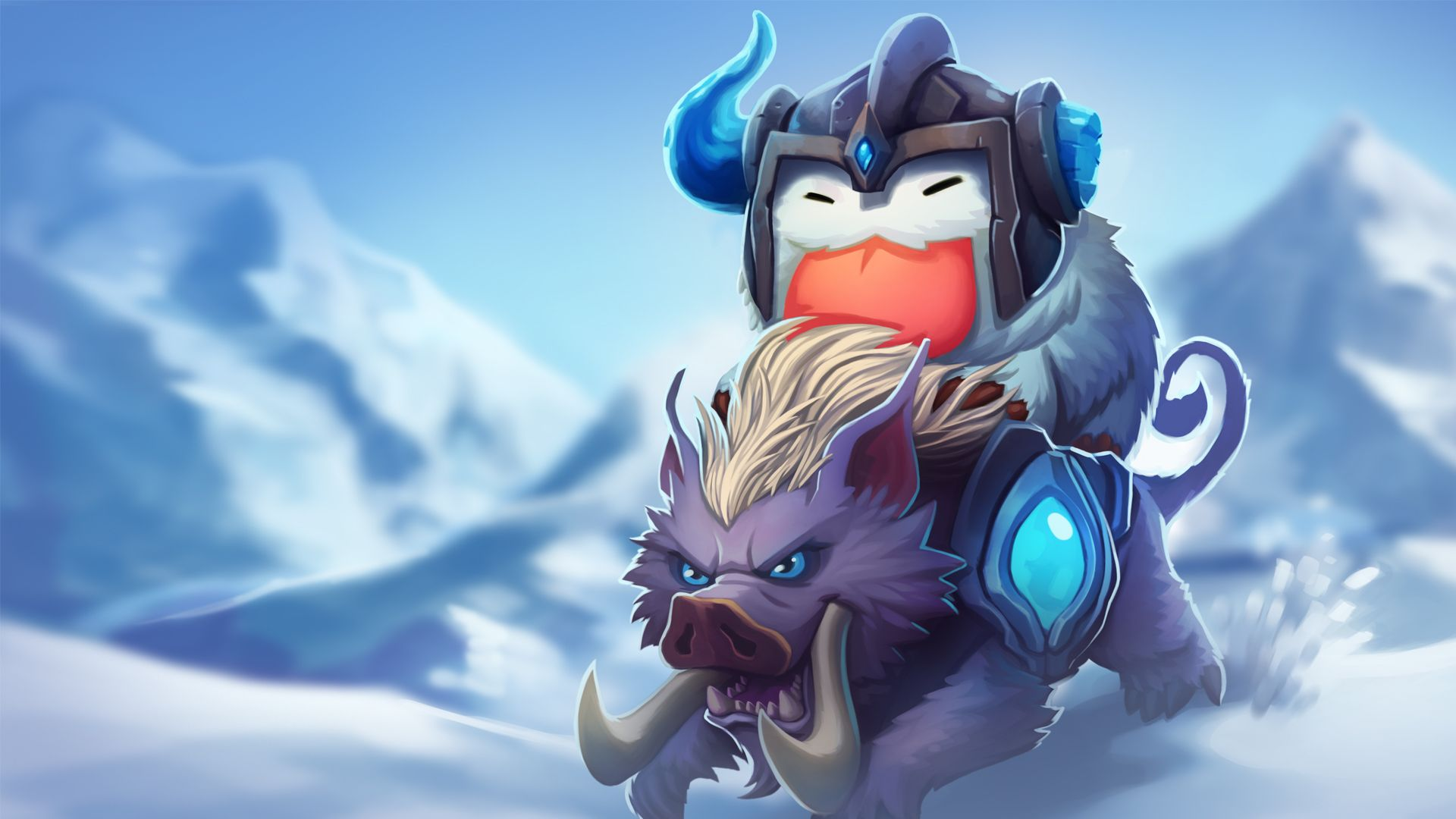 Sejuani Champion Poro Wallpapers - Album on Imgur | League ...