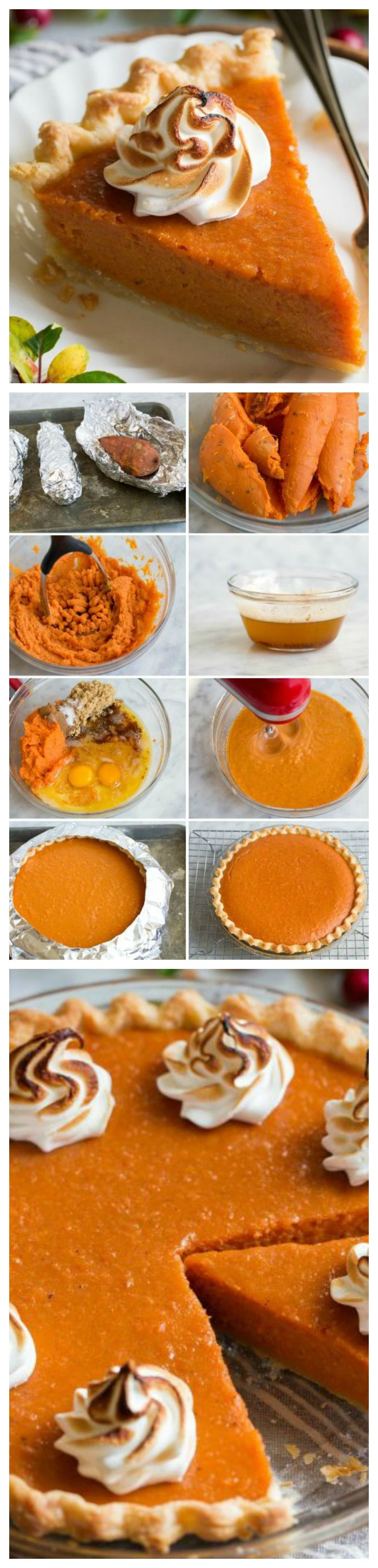 Perfect Sweet Potato Pie Recipe #sweetpotatopie