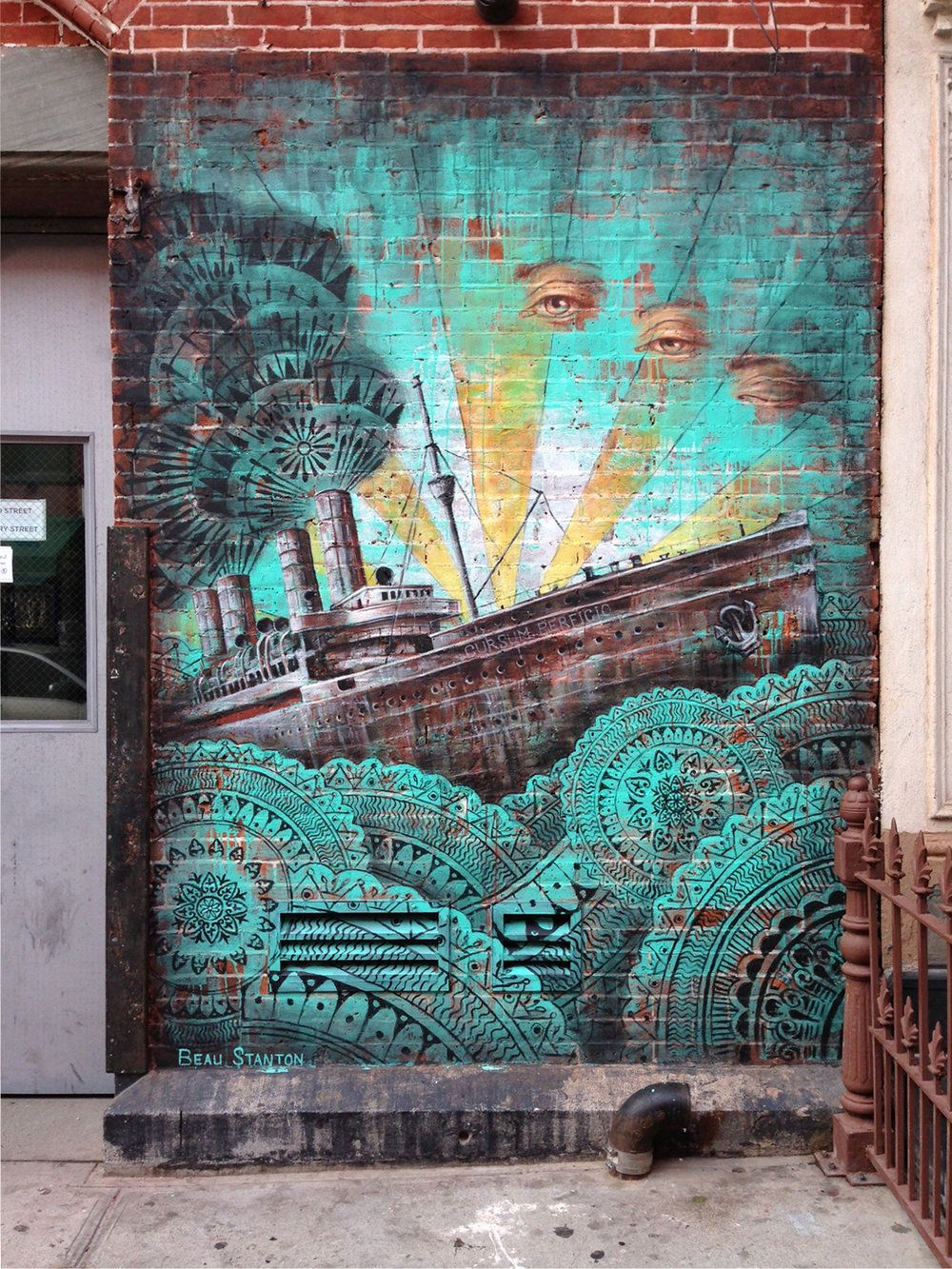 Beau Stanton Murallist Helps Interior Designers Property Owners And Offices Source Discover Commission Custom Murals From New York Citys Most