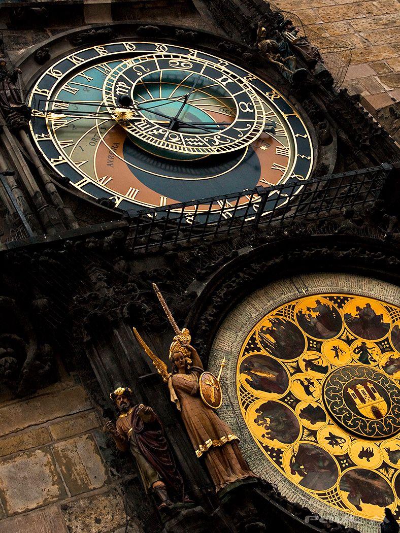 Astronomical Clock Prague Clock Prague Old Clocks