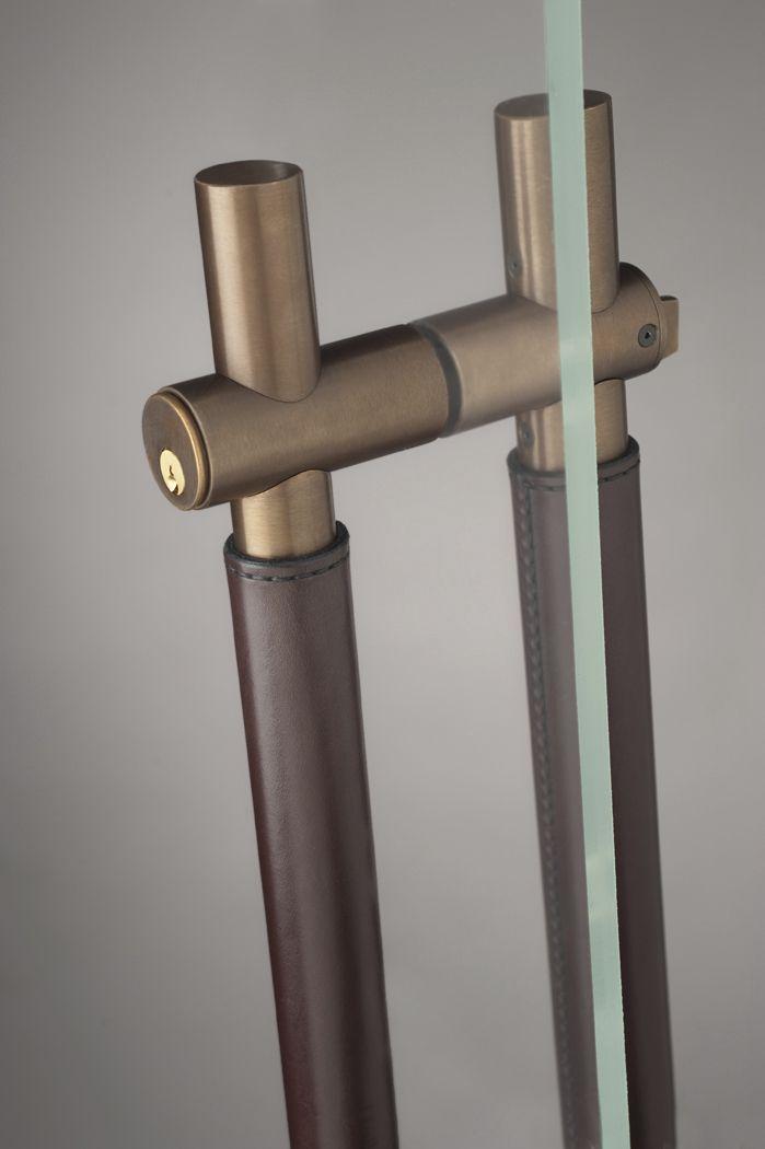 Postmount Door Pull Leather Door Handles Furniture Handles Doors