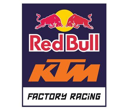Logo Ktm Red Bull Factory Racing Download Vector Motocross