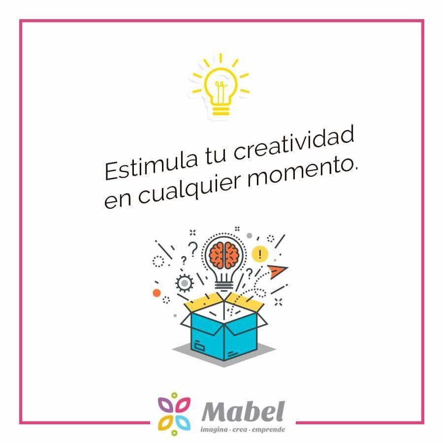 Ya sea mientras elaboras tus productos, o en tus ratos libres, la creatividad se hace presente.