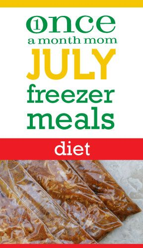 This has to be the coolest site ever! Pick your style of food (diet, traditional, vegetarian, etc...). Then print your shopping list and pre made labels for a months worth of freezer meals you make for the month!!