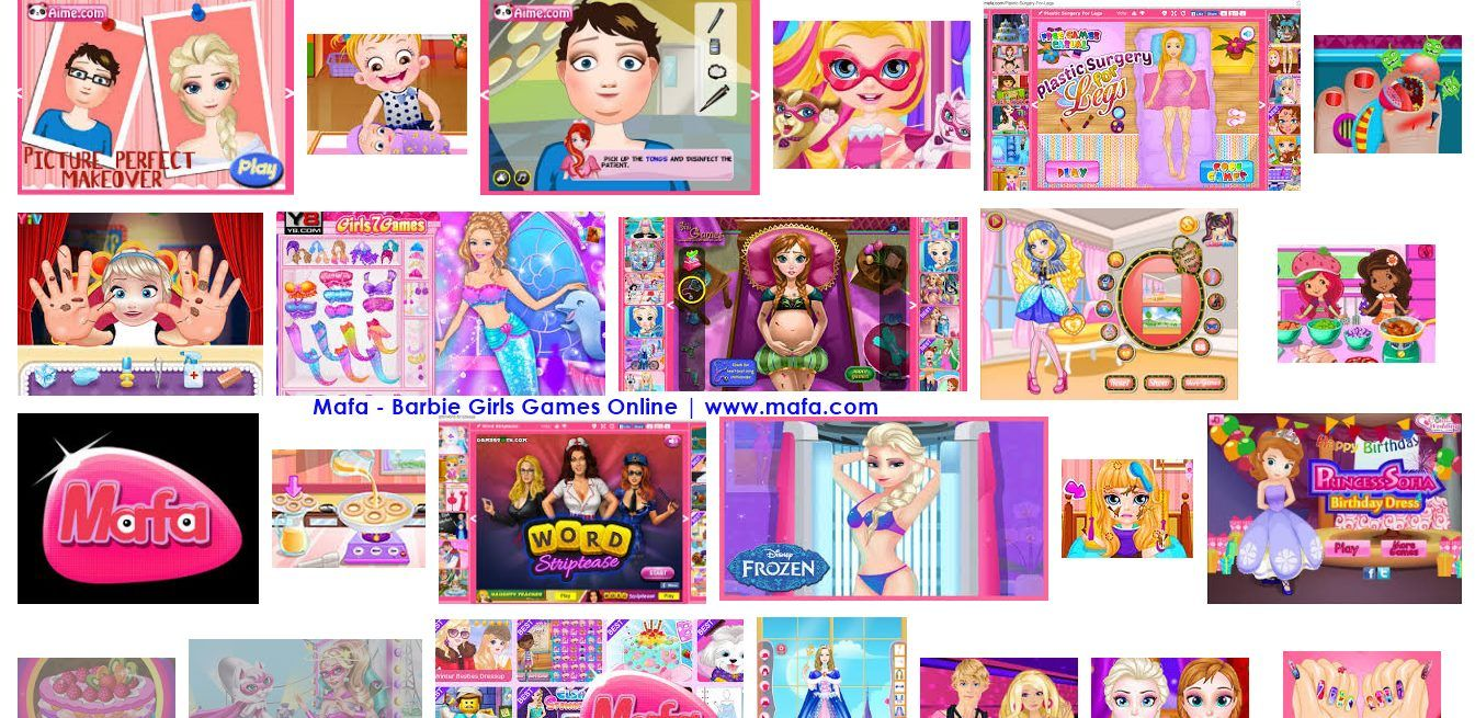 Mafa Barbie Girls Games Online (With images) Games for