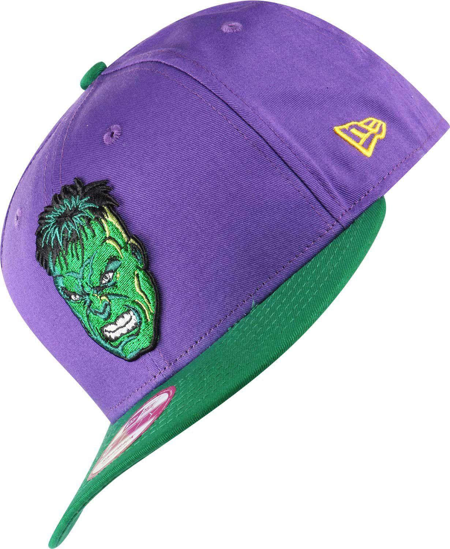 641cc1e036f New Era Reverse Hero Hulk Official Snapback Cap Blue Small   Medium ...