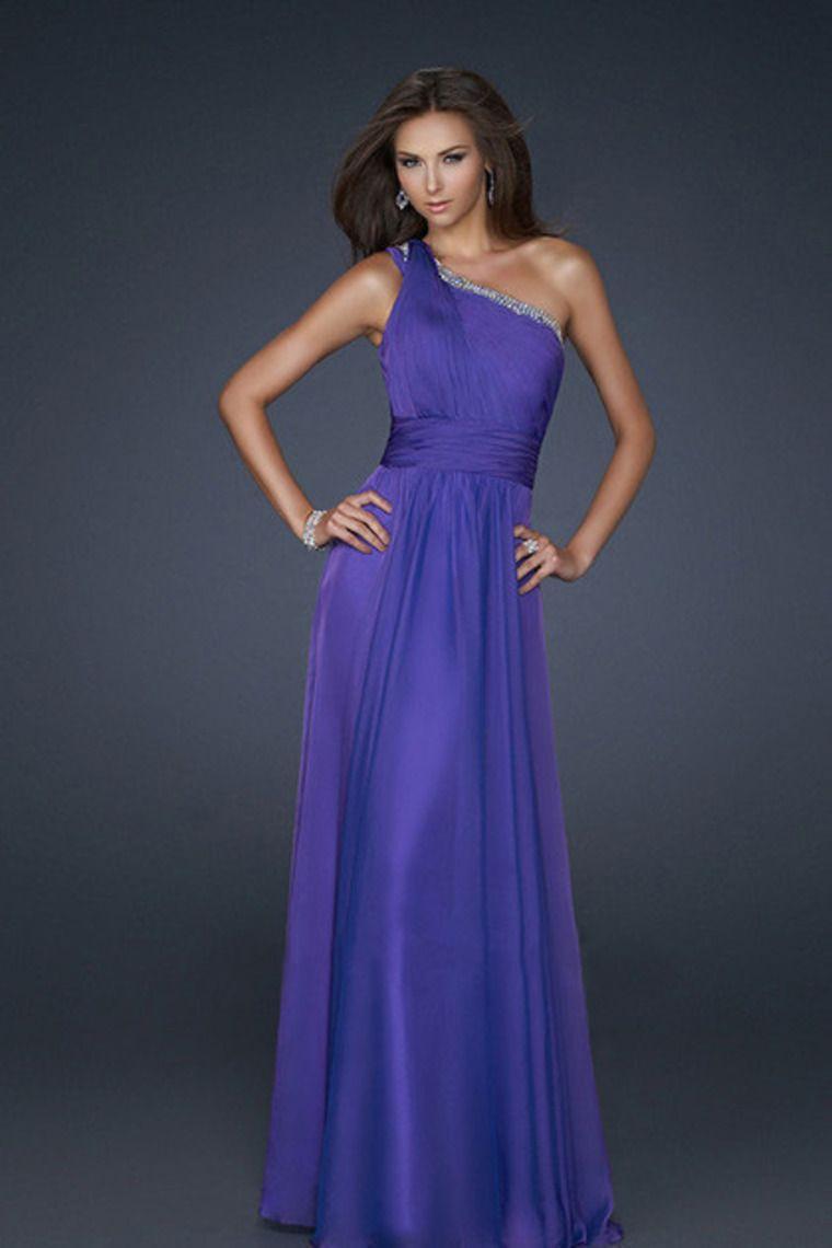 One Shoulder Prom Dresses 2012
