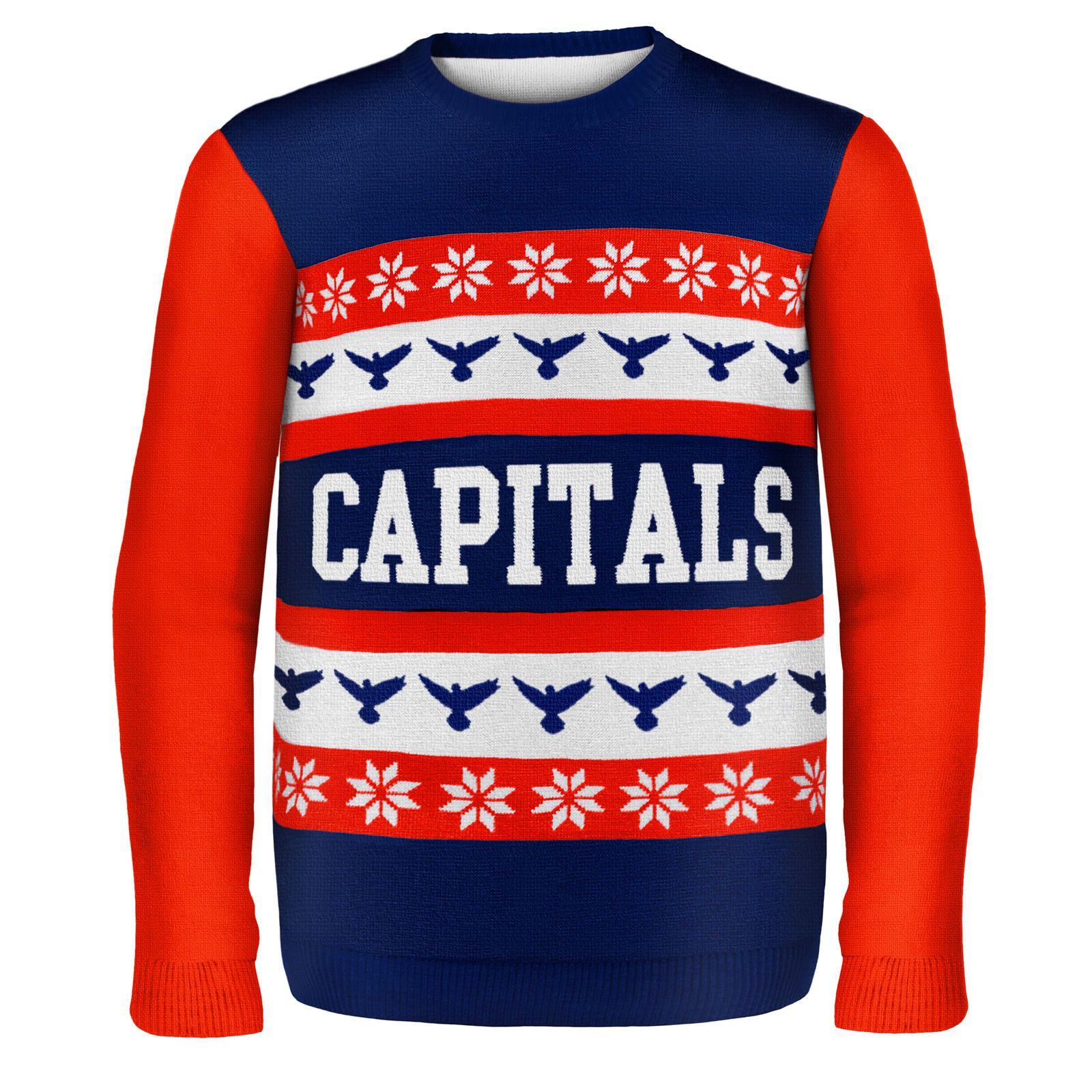 Washington Capitals NHL Ugly Sweater Wordmark  90467915f