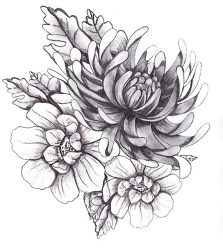 Urban Decay temporary tattoo sold out Birth flower