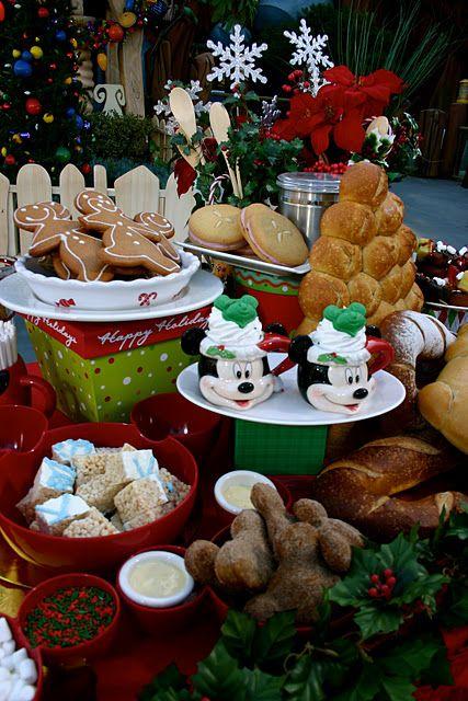 Disneyland Holiday Treats Christmas Ideas Disneyland