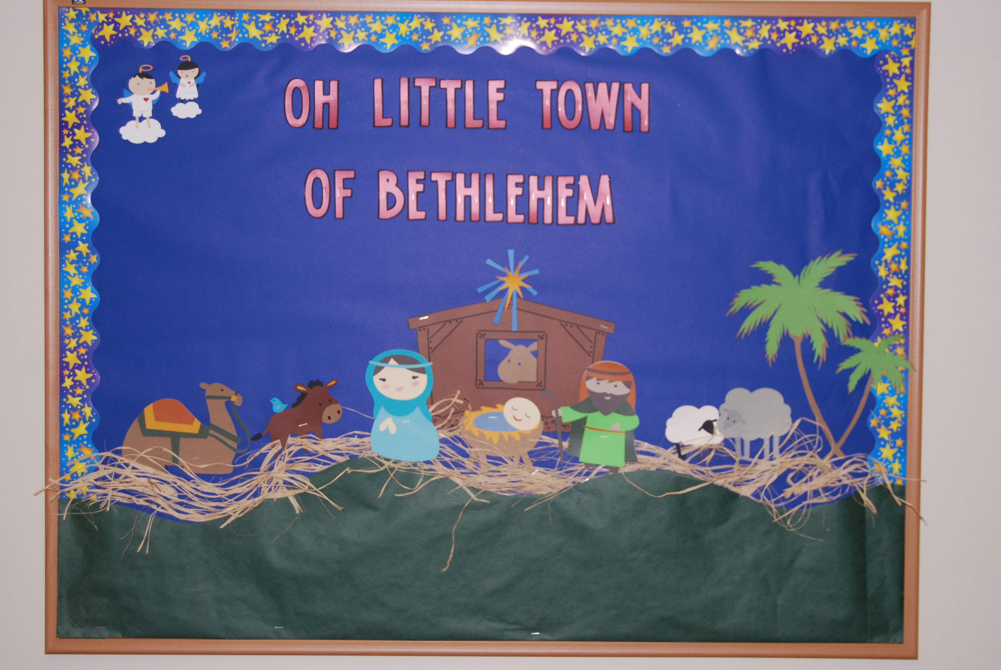 Christmas Bulletin Board For Church Or Private School