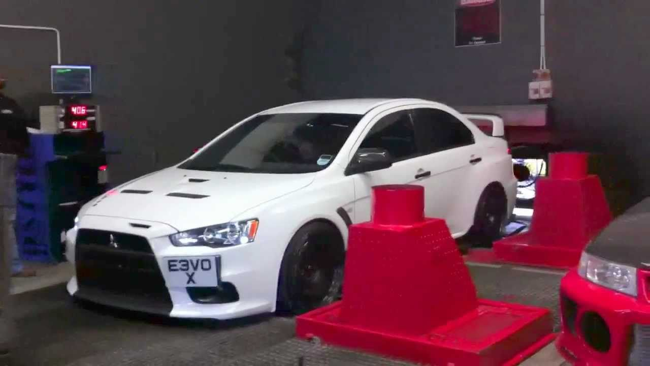 Mitsubishi lancer evo ten 10 x rolling road dyno at a video of the evo 5 as seen in the video above http
