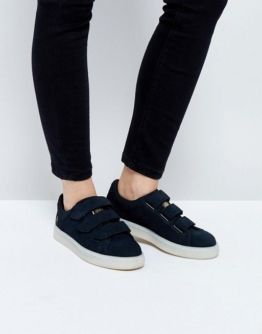 22612875b3b Puma X Careaux Basket Strap Sneakers In Black