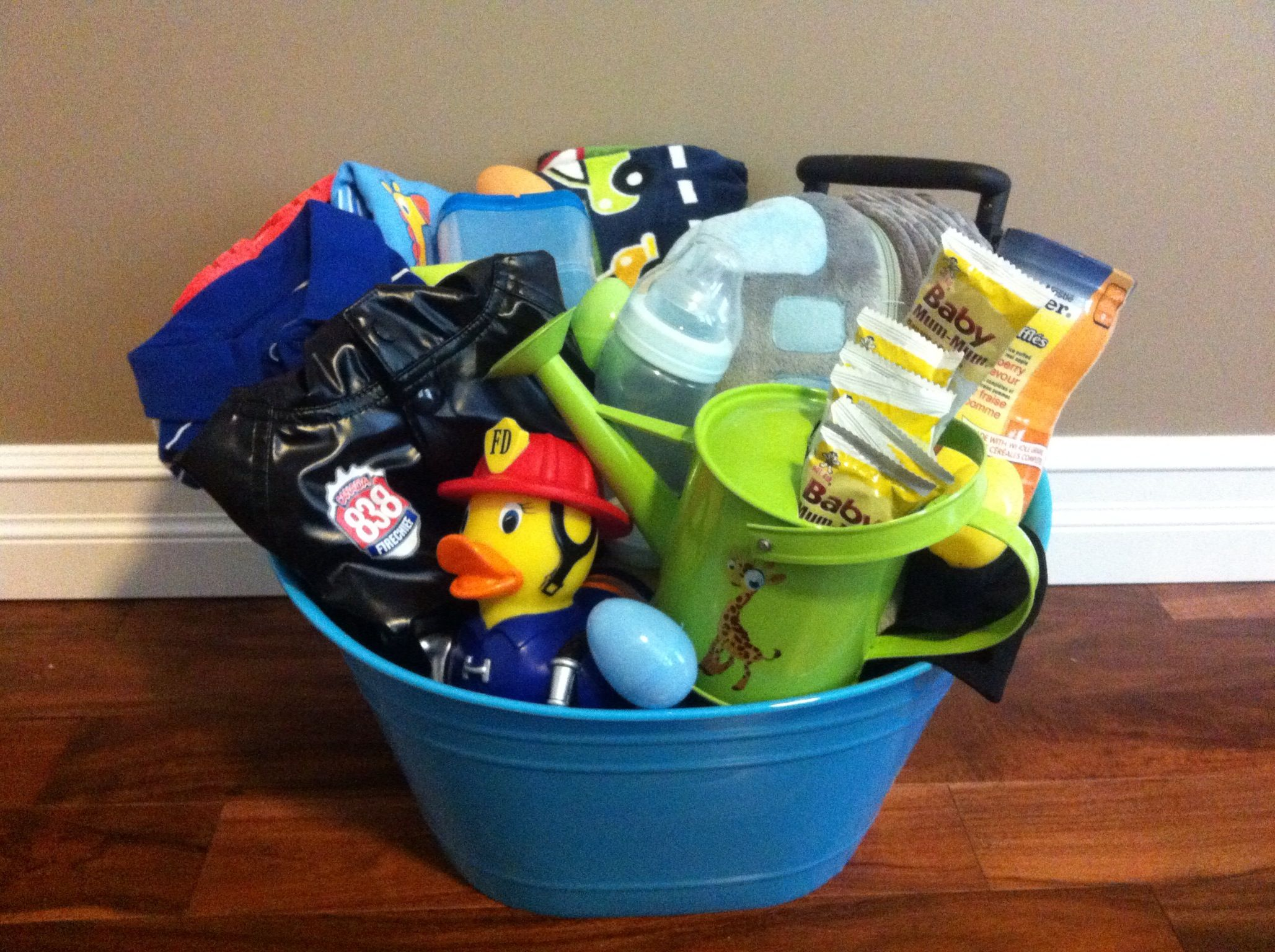 Easter Basket For My 9 Month Old Son Basket Is Filled