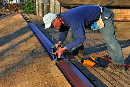 Roof Leak Detection Ridge Vent Ridge Vent Roofing